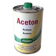 Aceton von Kluthe in 1 Liter Blechdose Verdünner Reiniger Entfetter Lösungmittel