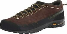 La Sportiva TX2 Men Chocolate/Avocado Leather with Rubber Sole Shoes US 10