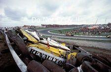 Rene Arnoux Renault RE30B Massive Crash Dutch Grand Prix 1982 Photograph 6