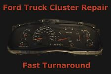 Ford Instrument Cluster Speedometer Odometer Repair Service Fix Read Description