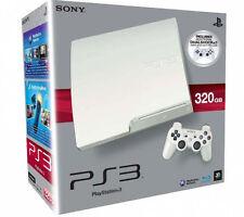 SONY PS3 Konsole 320GB SLIM WEISS Dualshock 3 Controller Spielkonsole DEUTSCH