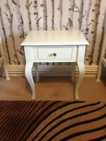 Laura Ashley Rosalind Bedside Table Drawers Pear Wood