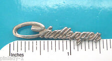 DODGE CHALLENGER  script -  hat pin , lapel pin , tie tac , hatpin GIFT BOXED