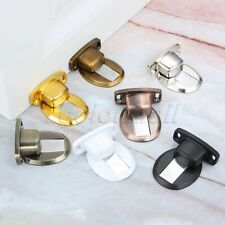 Round Floor-Mounted Magnetic Doorstop Door Stopper Nail-free Double-sided Tape
