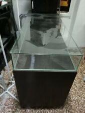 BANCONE NEGOZIO con vetrina in cristallo