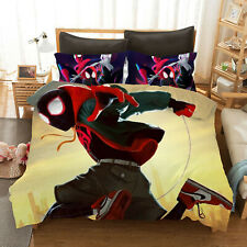 Spider-Man: Into the Spider-Verse Bedding Set 2PC/3PC Of Duvet Cover&Pillowcase