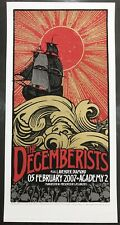 The Decemberists Poster Manchester United Kingdom Print 02/05/2007 Sold out