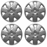 """ALLOY LOOK SET OF 4 x 14 INCH SILVER WHEEL TRIMS COVERS HUB CAPS 14"""""""
