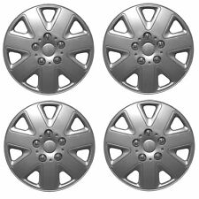 ALLOY LOOK SET OF 4 x 14 INCH SILVER WHEEL TRIMS COVERS HUB CAPS 14""