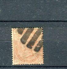Gran Bretagna/Great Britain 1880 regina vittoria 1s rosso bruno 54 usato