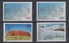 Conseil de l'Europe, 4 timbres n°114 et 117 année 1996**