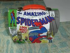 Marvel AMAZING SPIDER-MAN LUNCH BOX 2007 Featuring Doctor Octopus & SUPERMAN BOX