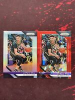 2018-19 PANINI PRIZM BASKETBALL LONZO BALL #294 HOLO SILVER PARALLEL SP + RED