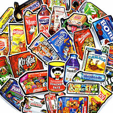 Food Snack Drink Chips 50ps Skateboard Stickers Vinyl Laptop Luggage Decals Dope