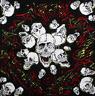 DV Fashions 100% Cotton Skulls Bandana Head Scarf