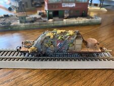 HO Custom WWII German Camouflaged Supply Railway Car. Roco Artitec Marklin Drg