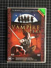 VAMPIRE HUNTERS rare Australian DVD cult Tsui Hark Hong Kong kung fu horror HK
