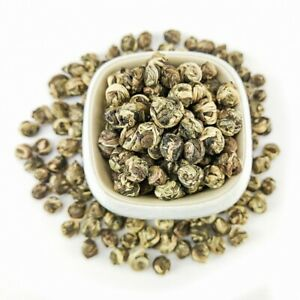 Pearl Jasmine Dragon Ball Tea Chinese Organic Green Tea Loose Leaf 1LB (500g)