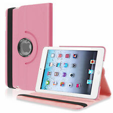 """New Leather 360 Rotating iPad Case Cover Stand Fits Apple iPad Air 2 9.7"""" & Pen"""