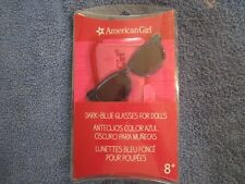 American Girl Dark Blue Glasses w/ felt case NIP gr8 Gift LEA GRACE MCKENNA NIP