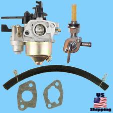 HydroStar Carburetor w/ Shutoff Right Petcock Pressure Washer 61228 61234 2500