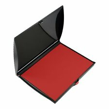 """Shiny Large Rubber Stamp Ink Pad, Plastic Cover 