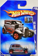 HOT WHEELS 2009 REBEL RIDES '32 FORD VICKY #02/10 FACTORY SEALED