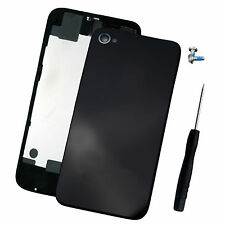 New Black Replacement Back Cover Battery Door For Apple iphone 4s A1387+TOOLS