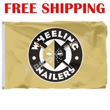 Wheeling Nailers Logo Flag ECHL Hockey League 2018 Banner 3X5 ft