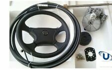 Boat Steering Kit 17FT (5.18metre) Cable Teleflex Ultraflex Compatible Multiflex