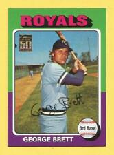 GEORGE BRETT 2001 Topps Through The Years Reprints #30 Royals (1975 Topps Rookie