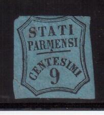 ITALY 1853 PARMA MINT #PR2, NEWSPAPER TAX STAMP, 9 Centesimi !!  D39A