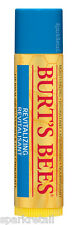 Burt's Bees BLUEBERRY & DARK CHOCOLATE Lipbalm Moisturizing Lip Balm 4.25g ****