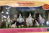 Sylvanian Families 35th Anniversary BORDER COLLIE FAMILY Limited Edition