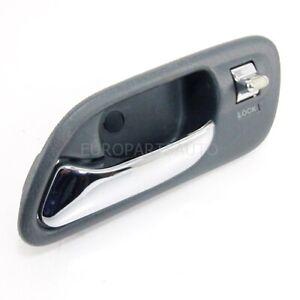99-03 Acura TL INTERIOR DOOR HANDLE LH Driver Side GRAY Inside Left Genuine OEM