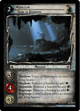 LOTR: Gollum, Dark as Darkness [Lightly Played] Reflections Lord of the Rings TC