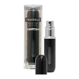 TRAVALO CLASSIC EASY PERFUME REFILL SPRAY 5.0 ML (0.17 OZ) 65 FULL SPRAYS BLACK