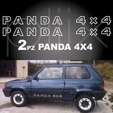 Panda 4x4 adesivo stickers tuning logo fiat stemma sisley fuoristrada