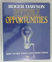 Invisible Opportunities - Roger Dawson Course Book & Cassettes Self Help Audio