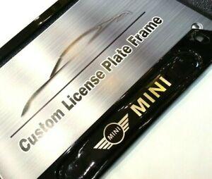 Black License Plate Frame - Mini Cooper
