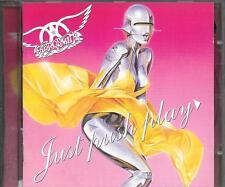 CD ALBUM 13 TITRES--AEROSMITH--JUST PUSH PLAY--2001