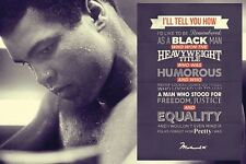 Muhammad Ali Rememberence Quote Poster Print New 36x24 Free Shipping