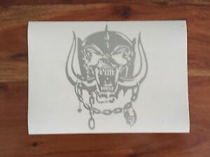 motorhead war pig silver sticker