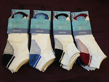 6 PAIRS MENS COTTON GYM SPORTS ATHLETIC SUMMER TRAINER ANKLE SOCKS UK SIZE 6-11
