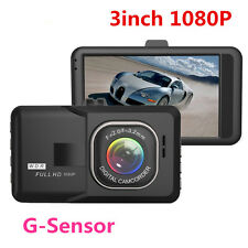 "New 1080P 3"" HD LCD Car Dash Camera Video DVR Cam Recorder Night Vision G-Sensor"