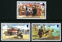 GUERNSEY 1980 POLICE FORCE SET OF ALL 3 COMMEMORATIVE STAMPS MNH (b)