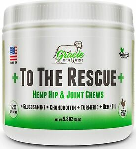 Joint Supplement for Dogs  – Glucosamine, Chondroitin, Turmeric, Hip and...