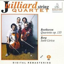 Juilliard String Quartet - Beethoven / Berg CD NEU