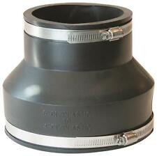"""NEW FERNCO P1056-64 6"""" X 4"""" PVC RUBBER FLEXIBLE COUPLING USA MADE SALE 6544936"""