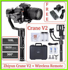 Zhiyun Crane V2 3-Axis Handheld Stabilizer Gimbal with Wireless Remote Control